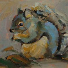 "Daily Paintworks - ""Oh, da Baby!"" - Original Fine Art for Sale - © Patti McNutt"