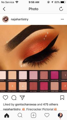 When it comes to eye make-up you need to think and then apply because eyes talk louder than words. The type of make-up that you apply on your eyes can talk loud about the type of person you really are. Eye Makeup Tips, Makeup Goals, Skin Makeup, Makeup Inspo, Eyeshadow Makeup, Makeup Inspiration, Beauty Makeup, Makeup Ideas, Makeup Products