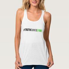 #women - #TCL Women's Tank-White Tank Top
