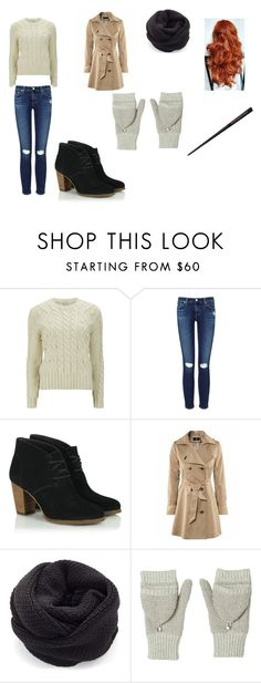 """""""Annabelle Potter"""" by oomfoveryou ❤ liked on Polyvore featuring Carven, AG Adriano Goldschmied and Rebecca Taylor"""