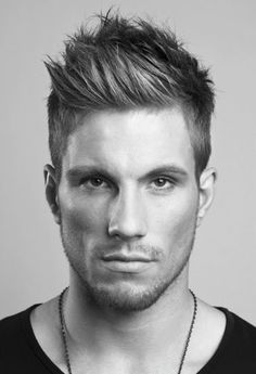 2013 Men's Hairstyle Trends: The Peaked Side Crop