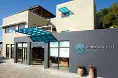 Elounda Blu Hotel - Hotel Entrance http://www.elounda.com/en/hotels/europe-greece-crete-lassithi-elounda/eloundabluebayhotel.html