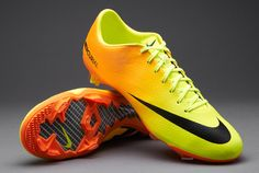 sports shoes 26b67 a3362 Nike Football Boots - Nike Mercurial Vapor IX FG - Firm Ground - Soccer  Cleats - Volt-Black-Bright Citrus