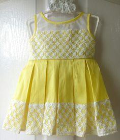 Frocks for girls Baby Girl Frocks, Frocks For Girls, Baby Frocks Designs, Kids Frocks Design, Cute Baby Dresses, Little Girl Dresses, Cotton Frocks For Kids, Kids Dress Wear, Kids Wear