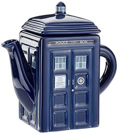 Doctor Who Tardis Ceramic Teapot Doctor Who https://www.amazon.com/dp/B0083AR8LI/ref=cm_sw_r_pi_dp_x_mCq9ybT8CZRWC