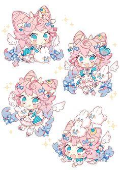 上倉エク🌷Eku Uekura (@ekureea) / Twitter Anime Drawings Sketches, Cute Drawings, Cute Anime Character, Character Art, Pastel Goth Art, Pokemon, Cute Art Styles, Cute Chibi, Kawaii Art