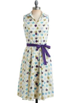 Raise the Roost Dress, @ModCloth