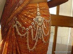 vintage antique tribal old silver belt belly chain trouser decoration bellydance. $449.00, via Etsy.