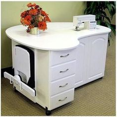 Sewing Machine Cabinets - Fashion Sewing Cabinets Quilters Cloud Nine Model 8300, $1,879.99 (http://www.sewingmachinecabinets.com/fashion-sewing-cabinets-quilters-cloud-nine-model-8300/)