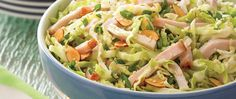 This delicious and refreshing salad is perfect as a healthier side item option or a light main dish.