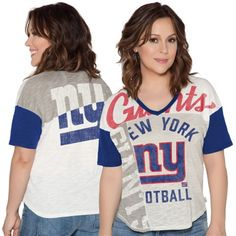 New York Giants Touch by Alyssa Milano Women s Touch Power Play T-Shirt -  Cream 2aec771e9