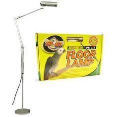 Other bird supplies 3211 zoo med aviansun deluxe floor pet lamp other bird supplies 3211 zoo med laboratories avian sun deluxe floor pet lamp mozeypictures Gallery