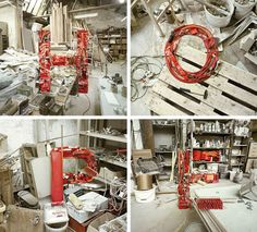 These series of anamorphic images aren't the result of retouching… it's all perspective!