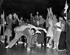 Original Jitterbug Fashions. What the LA swing dancers wore back in the day:  What a difference! LOL