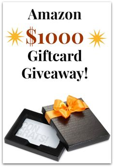 February GIVEAWAY: $1,000 Amazon Shopping Spree Gift Card #entertowin