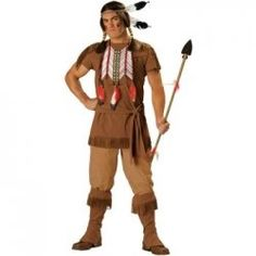 faux man's Native American Costume