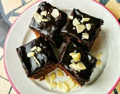 Negresa cu-minte (de post si fara zahar) – Liorisme What A Beautiful Day, A Perfect Day, Gem, Deserts, Goodies, Vegetarian, Tasty, Healthy Recipes, Vegan