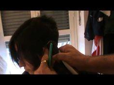 taglio corto short cut buzz nape - YouTube