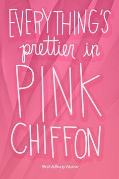Don't you think? #PinkChiffon