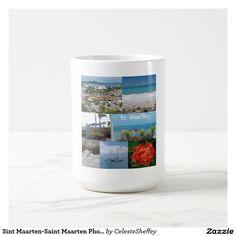 Sint Maarten-Saint Maarten Photo Collage Coffee Mug (sold - NJ) Thank you!