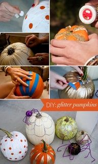 This easy, creative, fun craft is perfect for children -- no pumpkin carving required! Just glitter, glue, a few craft accessories, and some imagination -- It's fun for the whole family!