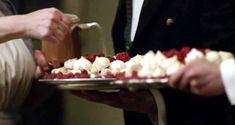 Mrs. Patmore's Infamous Raspberry Meringue Pudding