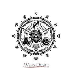Gate of time tattoo-- going on the nape of my neck