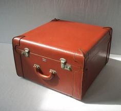 Vintage Leather Luggage / Miller Flagship / New York by urgestudio, $150.00
