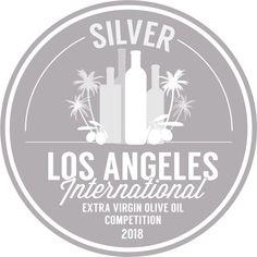 Silver medal LA olive oil competition