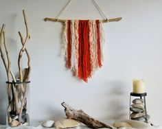 woven wall hanging wall tapestry wall decor by ColibriHandicrafts