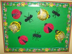 The Thoughtful Spot Day Care: Bug Bulletin Board