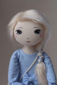 Herenia – roma delikatna, handmade doll by romaszop