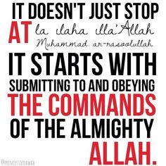 Laa ilaaha illa Allah Muhammadan RasulAllah : Photo