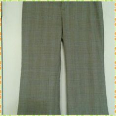 Banana Republic pants Gray stripe Banana Republic pants size 0/2 Banana Republic Pants