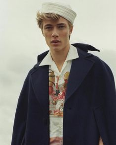 Lucky Blue Smith Stars in ES Magazine Cover Story