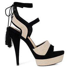 Hot!    RACHEL ZOE  Blake platfrom sandals  £275.00