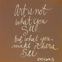 Day 269 | 365 Days of Hand Lettering #Degas #Art #Quote