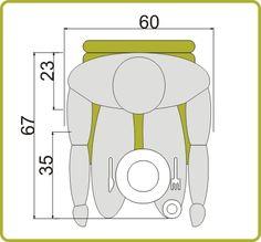 medidas mínimas mesa de 4 personas | Deco ideas | Pinterest | Mesas ...