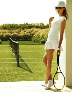 vogue tennis girl - Google Search