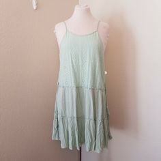 3348fec261d NWT Impeccable Pig Size Large Lace Dusty Mint Lined Dress  ImpeccablePig  Women s Dresses