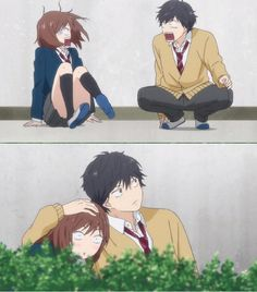 Discovered by Find images and videos about anime, manga and ao haru ride on We Heart It - the app to get lost in what you love. Ao Haru Ride Anime, Anime Films, Anime Characters, Futaba Y Kou, Otaku, Blue Springs Ride, My Little Monster, Image Manga, Manga Love