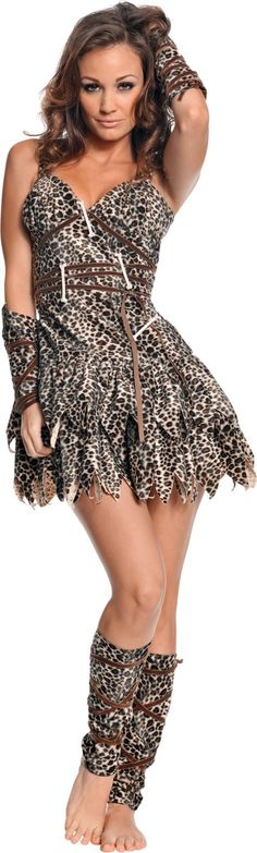 Going Clubbin Cavewoman Costume for Women - Party City