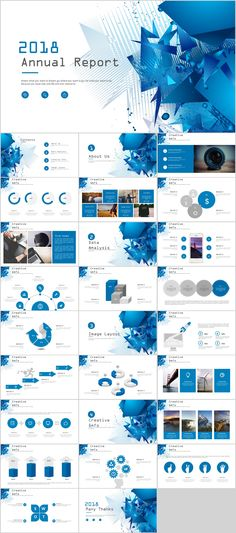 27+ Blue annual report chart PowerPoint templates on Behance #powerpoint #templates #presentation #animation #backgrounds #pptwork.com #annual #report #business #company #design #creative #slide #infographic #chart #themes #ppt #pptx #slideshow