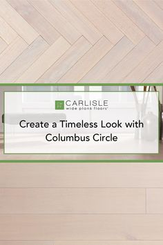 Subtle yet classic, this wood floor is timeless. The Columbus Circle from the Manhattan Collection combines gray hues with beautiful oak grain lines to establish a distinct appearance in any space. Discover what makes this design so unique. #whiteoak #whiteoakflooring #homedesign Oak Flooring, Wide Plank Flooring, Columbus Circle, White Oak Floors, Wood Floor, Manhattan, House Design, Gray, Space
