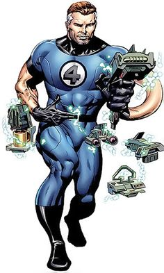 "Fantastic--""Daddy"" Reid by Dale Eaglesham Fantastic Four Marvel, Mister Fantastic, Comic Book Artists, Comic Books Art, Comic Art, Marvel Comics Art, Marvel Heroes, Captain Marvel, Marvel Avengers"