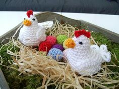 Homemade: Easter Chicken pattern
