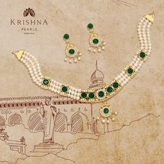 Product Code:JPH2795, Contact us on +91 9248036721. Enlight the Feminine look in the Green CZ's, Pearls Necklace set in yellow polish beautifully. #krishnapearls #pearlchokerset #chokersets #pearlsets #pearlchokers #pearlchokersets #pearlchokernecklace #chokerset #chokersets❤️ #pearlset #necklaceset #necklacesets #necklacesetonline #onlineshopping #onlinestore #onlineshoppingindia #shoppingonline #pearl #pearlnecklace #pearlearrings #pearls #freshwaterpearlnecklace #freshwaterpearlearrings Pearl Choker Necklace, Freshwater Pearl Necklaces, Pearl Set, Chokers, Feminine, Polish, Yellow, Jewelry, Green