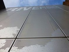 Perforated Metal Facade                                                                                                                                                      More