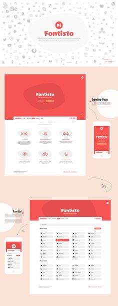 Fontisto the iconic font and css toolkit