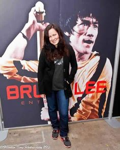 Shannon Emery Lee Bruce Lee 's daughter